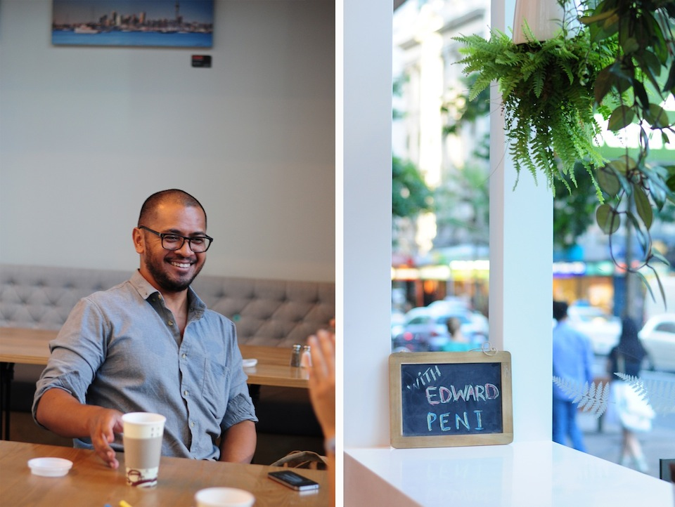 Name: Edward Peni Occupation: part-time barista, actor Place of residence: Auckland, New Zealand Photo by Katherine Brook