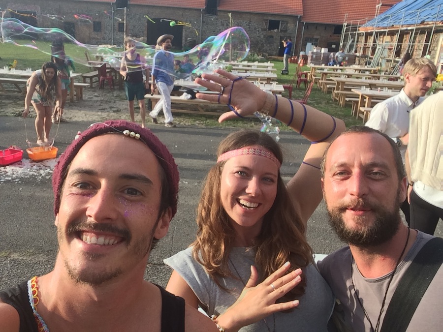 Graham Candy, Mattias Muller and Yana Papaya