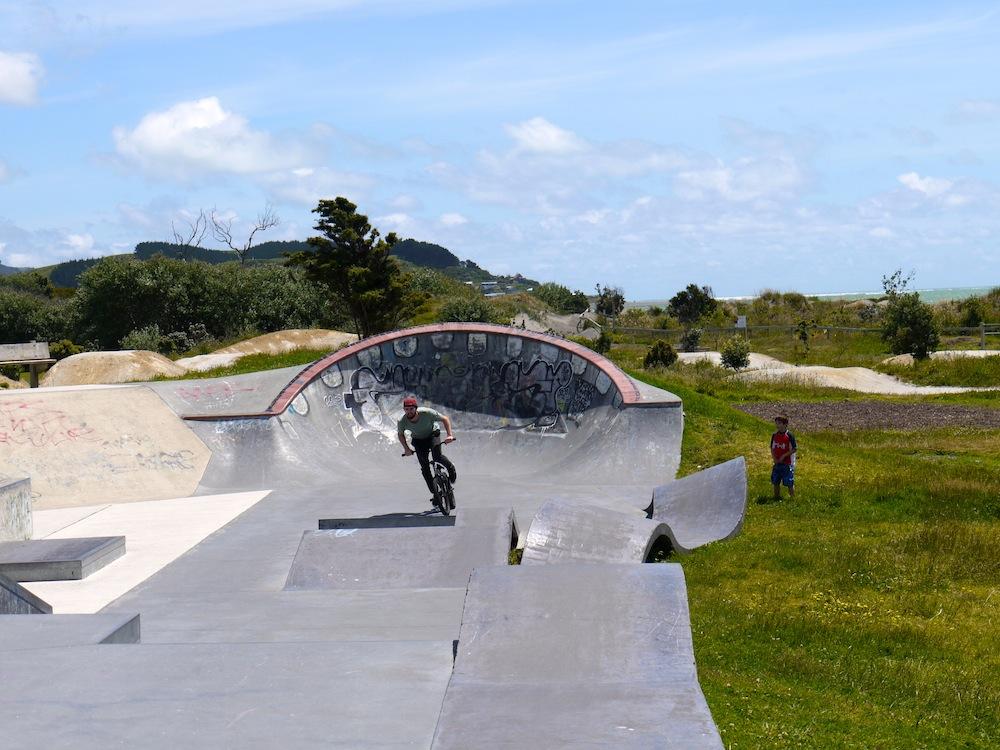 Raglan Skatepark BMX2