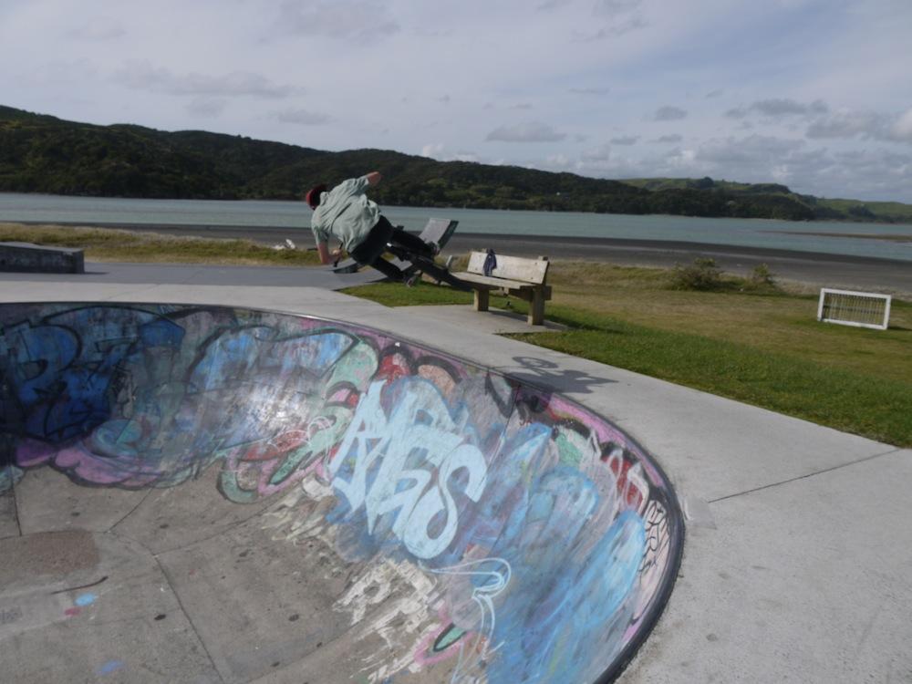 Raglan skatepark BMX 1