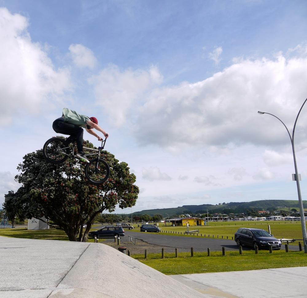 Raglan skatepark BMX