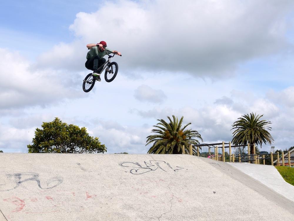 Raglan skatepark Jump