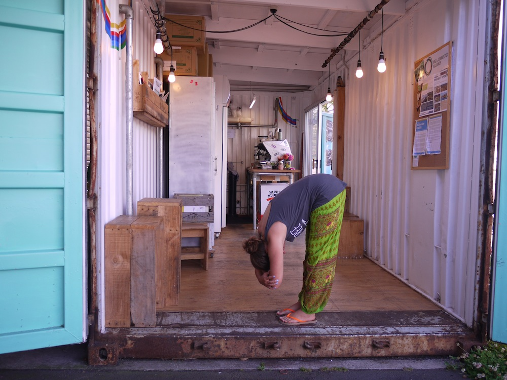 Yana Papaya Yoga Flow 11 Forward Stretch
