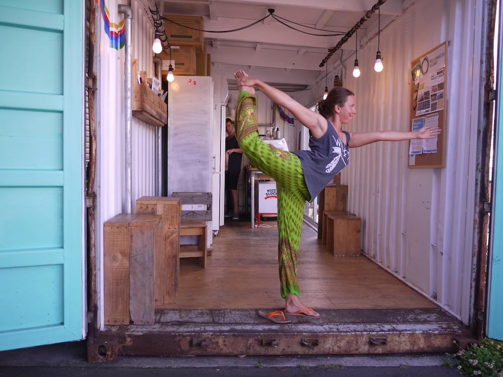 Yana Papaya Yoga Flow 9 Lord of the Dance Pose
