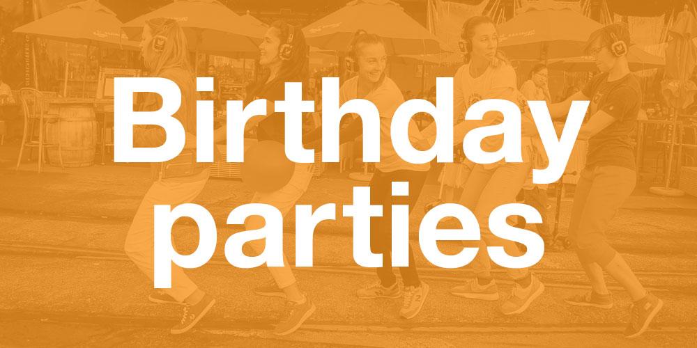 Silent Disco Birthday, Silent Disco Auckland, Birthday entertainment Auckland, Auckland parties, Auckland theme birthday party