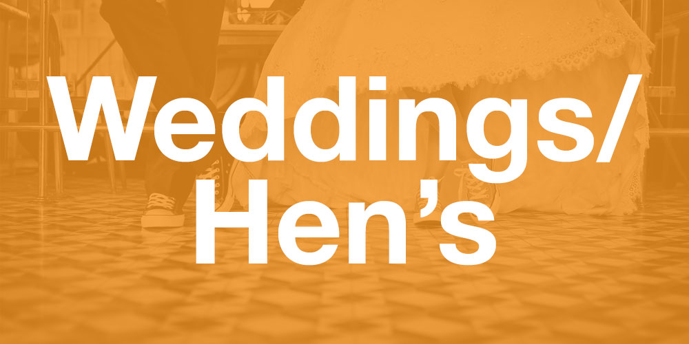 ideas for wedding or hen's party in auckland
