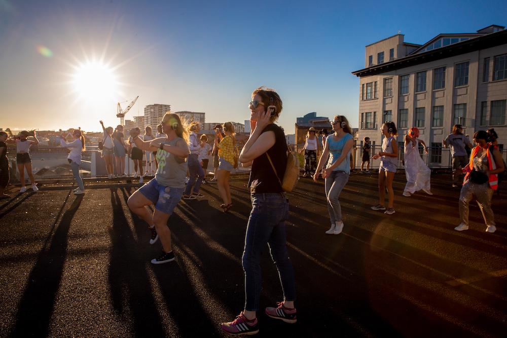 Silent Disco Citywalk Kroad Extravaganza