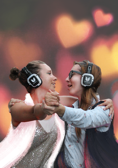 Silent Disco Citywalk Love Edition